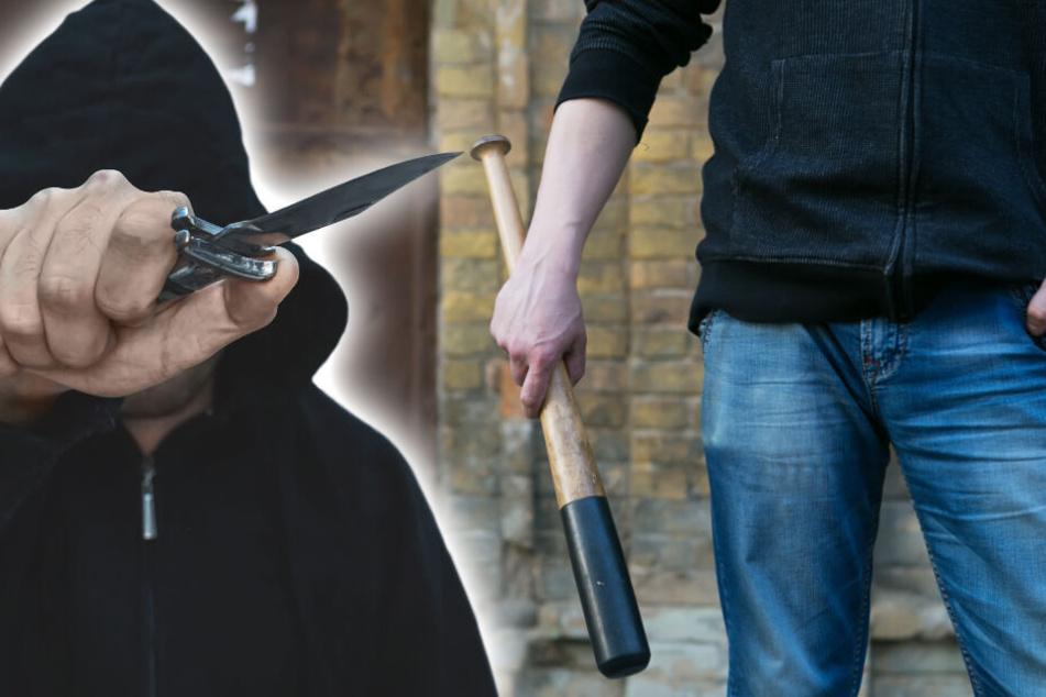 Mit Messer und Cricket-Schläger: Streit vor Shisha-Bar in Zwickau eskaliert