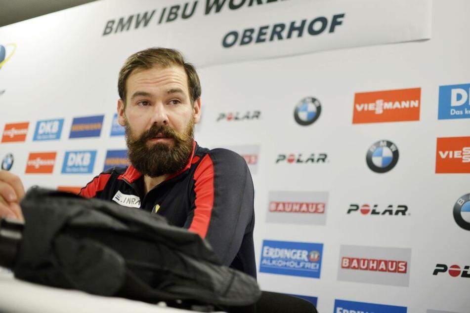 Michael Rösch hatte beim Biathlon-Weltcup in Oberhof unter Tränen sein Karriereende verkündet.