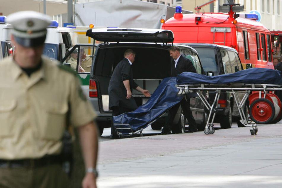 2007 wurden in Duisburg sechs Menschen vor einer Pizzeria erschossen. Das Verbrechen wurde als Mafia-Mord eingeordnet.