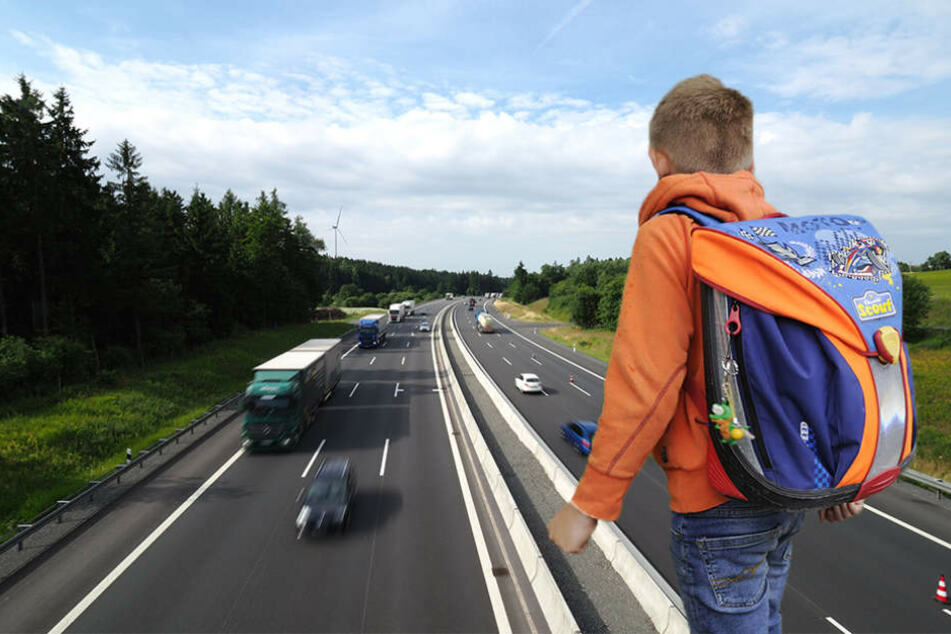 Der Schüler war auf dem Schulweg falsch ausgestiegen, setzte seinen Weg zu Fuß fort.