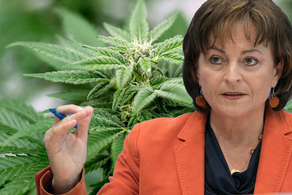 Die Drogenbeauftragte der Bundesregierung, Marlene Mortler sieht die aktuelle Entwicklung positiv. (Bildmontage)