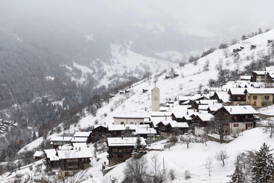 Das Schweizer Dorf bietet eine traumhafte Kulisse.