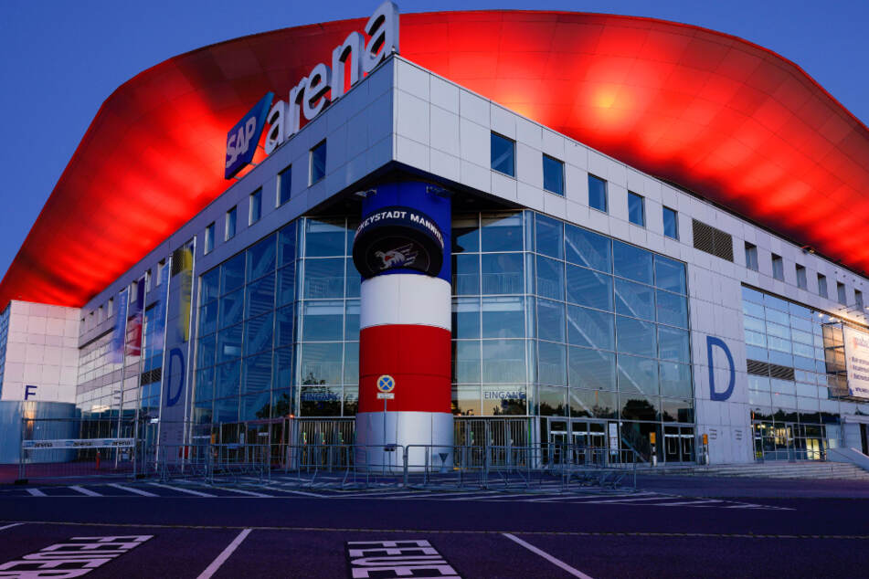 SAP-Arena in Rot - Hilferuf der Veranstalter in Corona-Krise