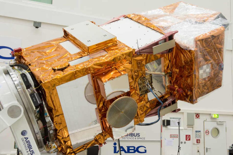 In Ottobrunn bei München wird die Raumfahrtforschung vorangetrieben.