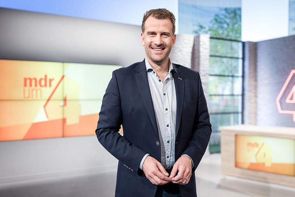 MDR-Moderator: René Kindermann (41).