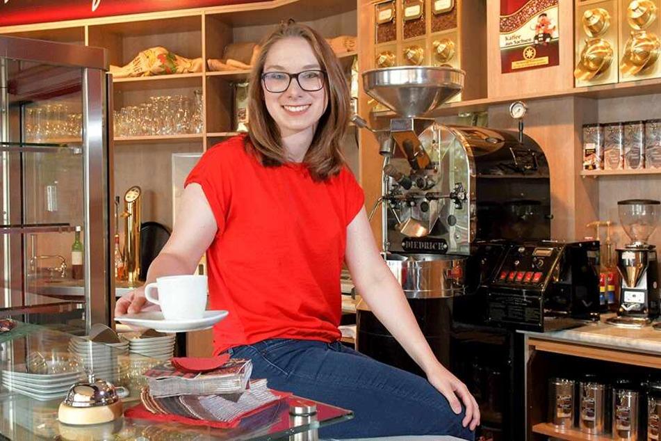 Nach Papas Krebstod wurde Celine Sachsens jüngste Firmenchefin