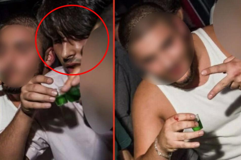 Mann (23) brutal zusammengeschlagen: Wer kennt diese Schläger?