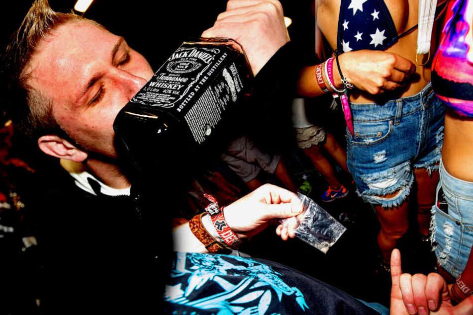 Traurig aber wahr: Für viele Jugendliche gehört heute Alkohol bei einer Party  zwingend dazu.