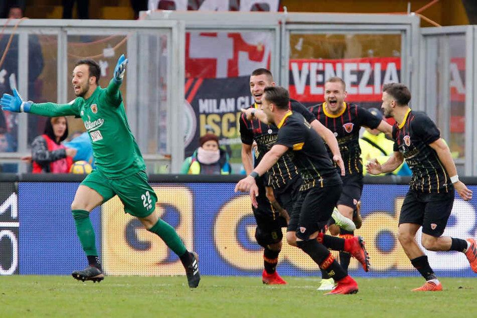 Benevento Calcio spielt in der italienischen Serie A.