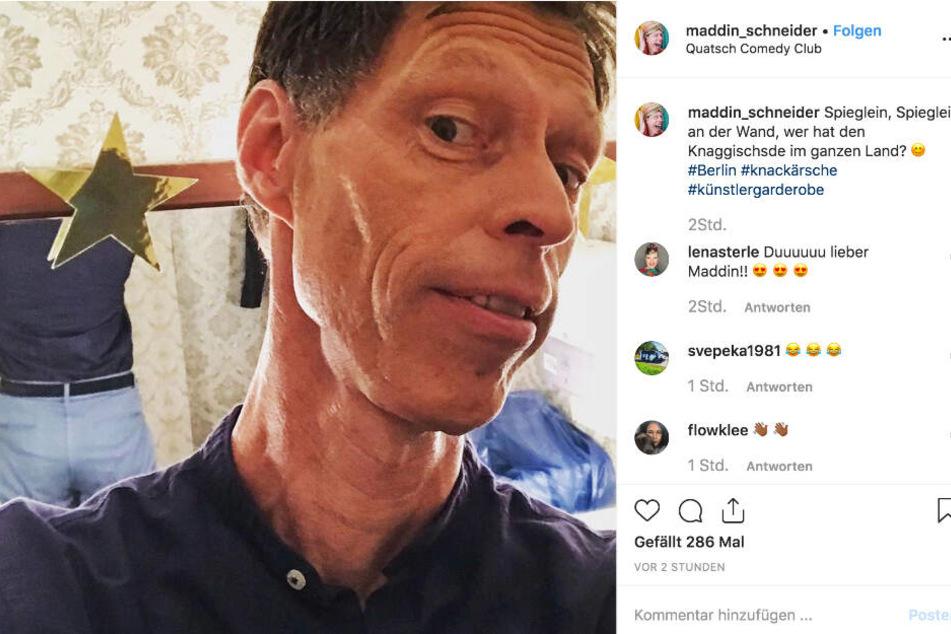 Diesen Instagram-Post veröffentlichte Maddin Schneider am Mittwochvormittag.