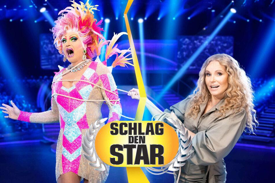 Schlag den Star: Katja Burkard will Drag-Queen Olivia Jones schlagen