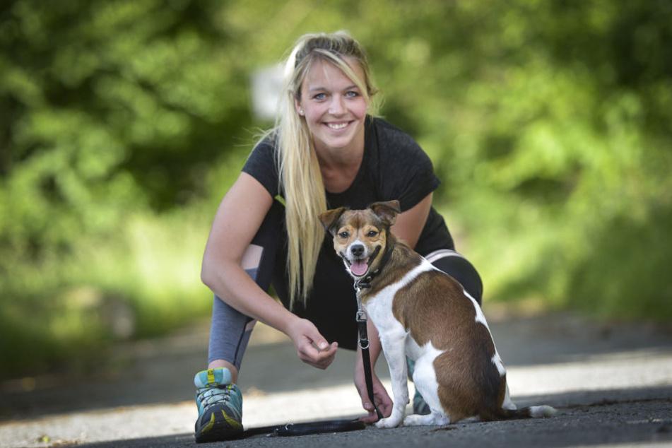 Den inneren Schweinehund überwinden: Therapeutin Lisa Brendel (26) macht  jetzt Sport mit Zweibeinern.