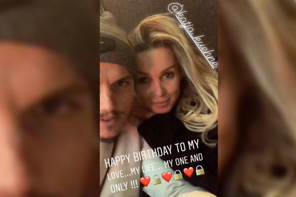 Auch auf seinem Account ließ der Fußballer in seiner Story einen süßen Geburtstagsgruß für seine Liebste da.