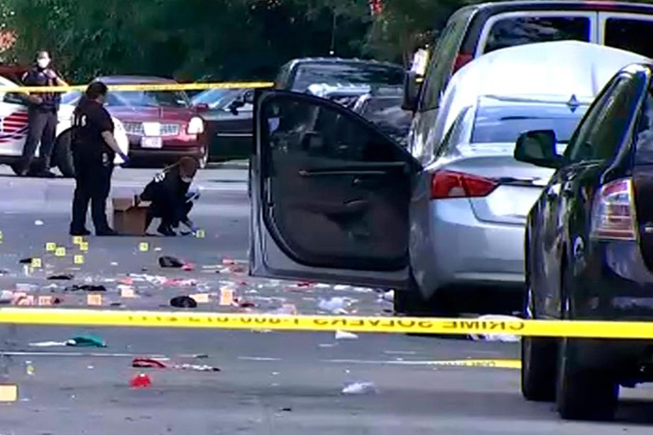 Drei Schützen! Schüsse bei Straßenfest: Ein Toter, 20 Verletzte
