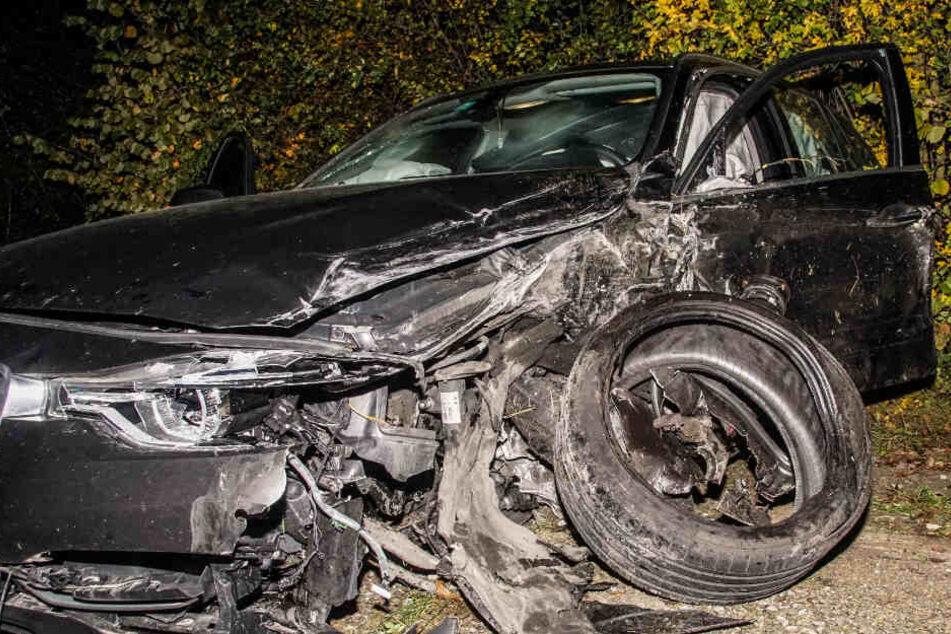 Suff-Unfall: Frau gerät mit Audi in Gegenverkehr