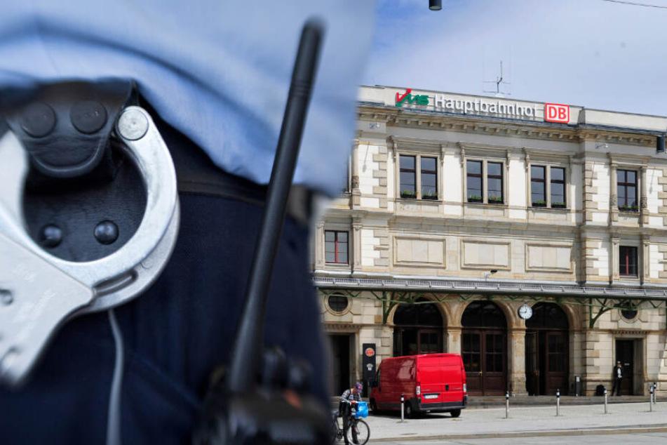 Chemnitz: Polizei stoppt Mann am Hauptbahnhof: Knast!