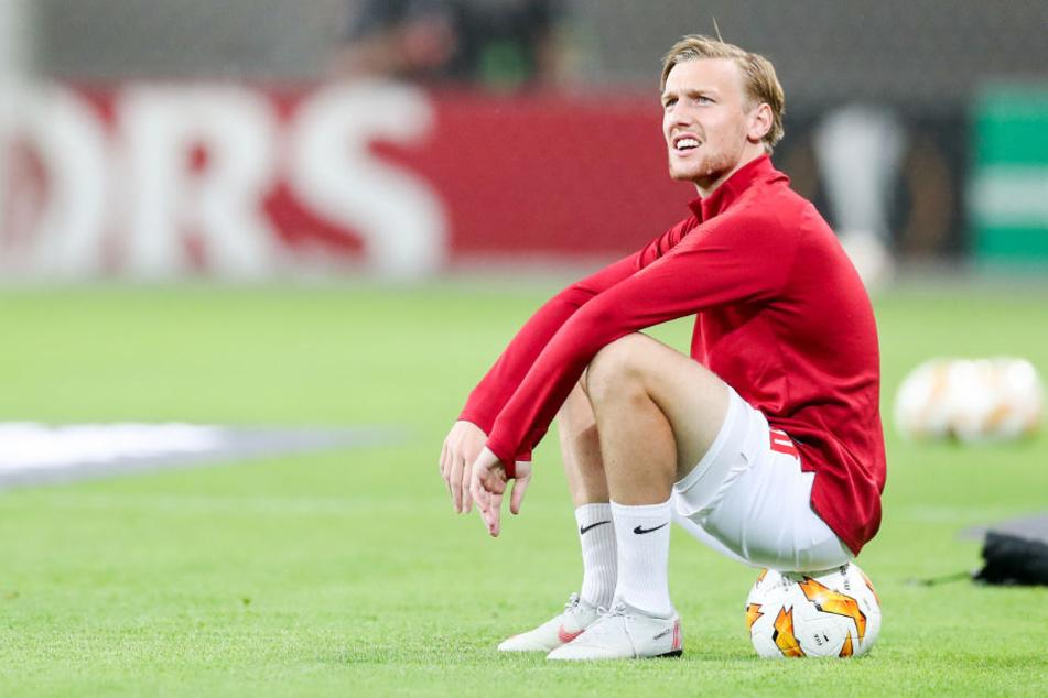 Mittelfeldspieler Forsberg hat seit zehn Wochen kein Spiel mehr bestritten.