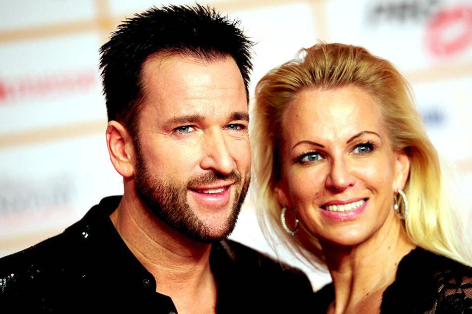 Der Schlagersänger und seine Noch-Ehefrau Claudia.