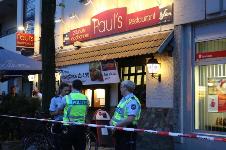 Großeinsatz in Köln-Niehl Zwei Tote in Restaurant gefunden - Polizei vor Ort