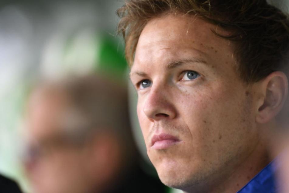 Zeigt seine Unzufriedenheit offen: Hoffenheim-Trainer Julian Nagelsmann.