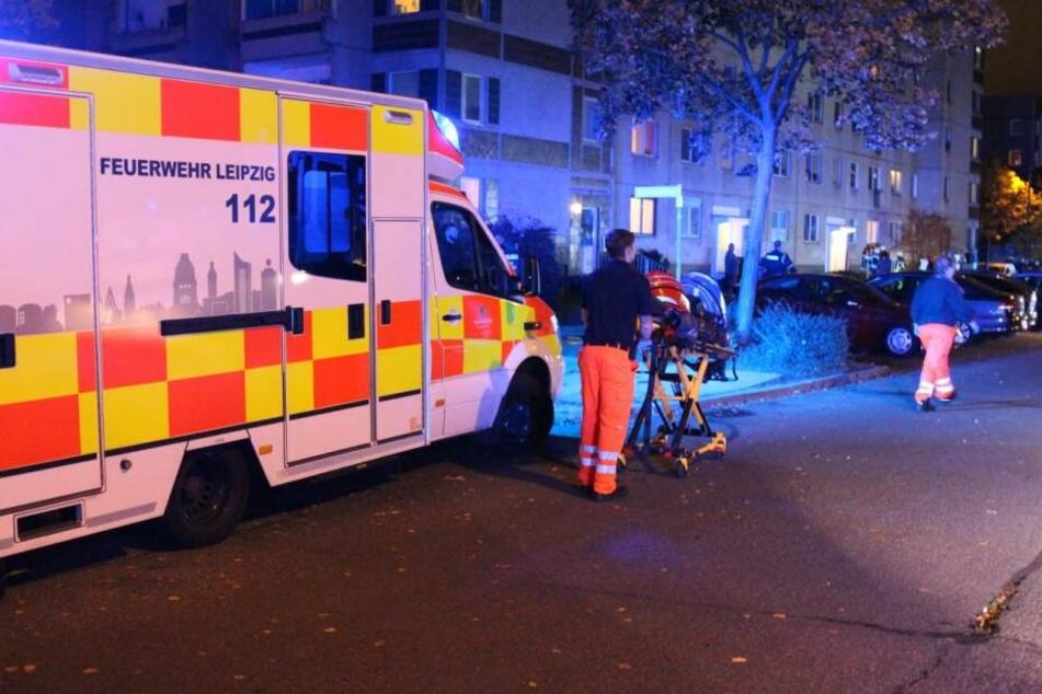 Zwei Männer wurden durch das Reizgas verletzt.
