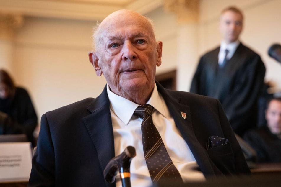 Marek Dunin-Wasowicz hat das KZ Stutthof überlebt und ist im Prozess in Hamburg Zeuge und Nebenkläger.
