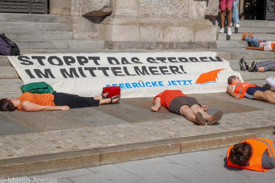 Demo für Seenotrettung im Mittelmeer: Verkehrseinschränkungen in Leipzig