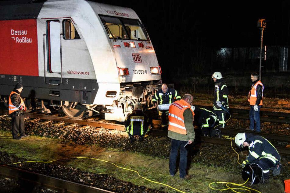 Der Zug konnte nach der Unfall-Räumung die Weiterfahrt Richtung Zürich wieder aufnehmen.