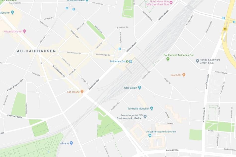 Im Münchner Stadtteil Haidhausen hat es in einem Mehrfamilienhaus gebrannt.