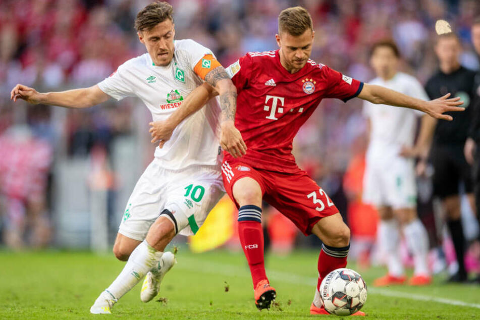 Der FC Bayern München musste in der Bundesliga gegen Werder Bremen alles geben.