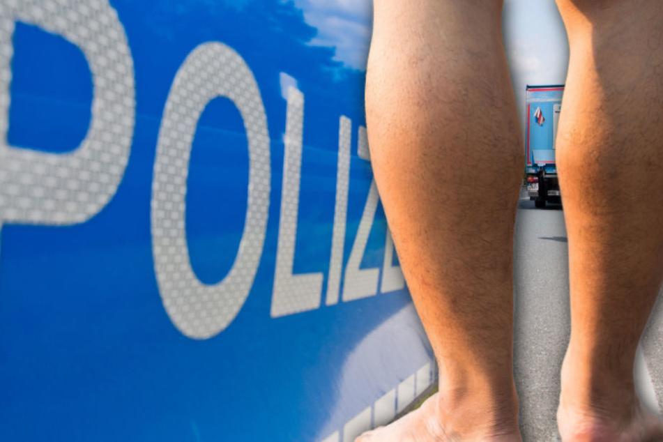 Die Polizei konnte den Mann aus Norwegen vor einem Unfall bewahren. (Symbolbild)