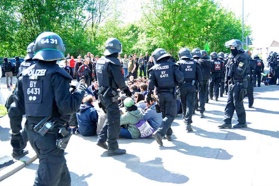 Die Polizei machte bei der Großdemo einen guten Job, findet die CDU.