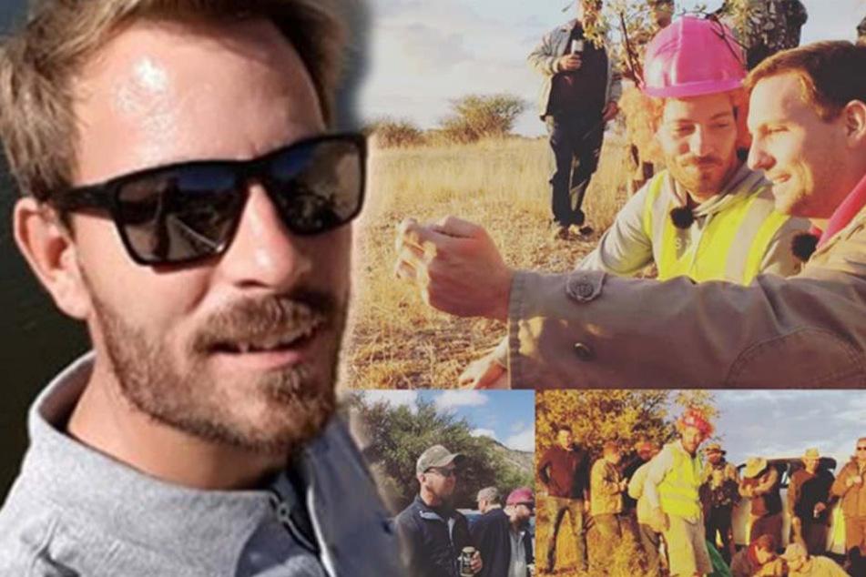 Der künftige Ehemann ließ es in Namibia mit seinen Freunden beim Junggesellenabschied krachen.
