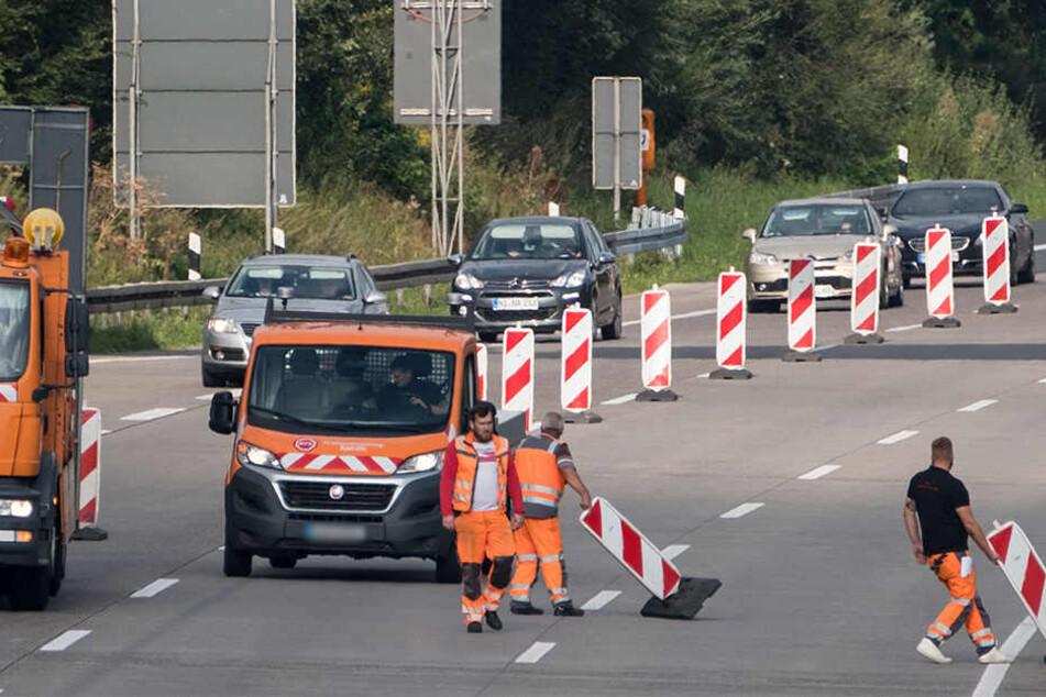 Die A2 a Kreuz Recklinghausen wird am Wochenende voll gesperrt werden (Symbolbild).