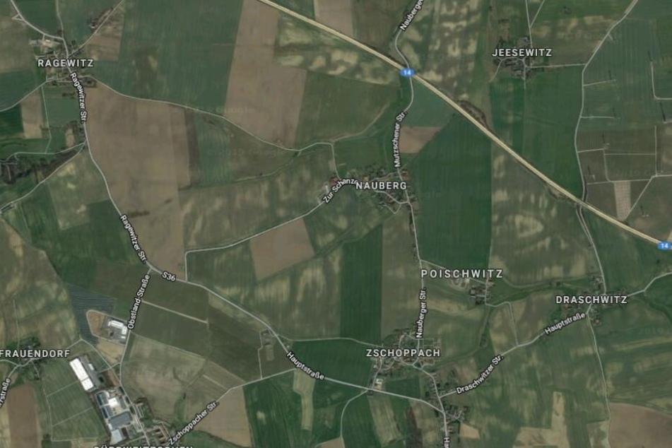 Der Mann war zunächst auf der S36 von Zschoppach nach Ragewitz unterwegs.