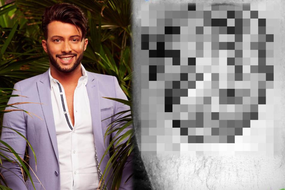 """Dschungelcamp: Domenico lässt sich """"IBES""""-Tattoo stechen: Doch ein Detail wirft Fragen auf"""