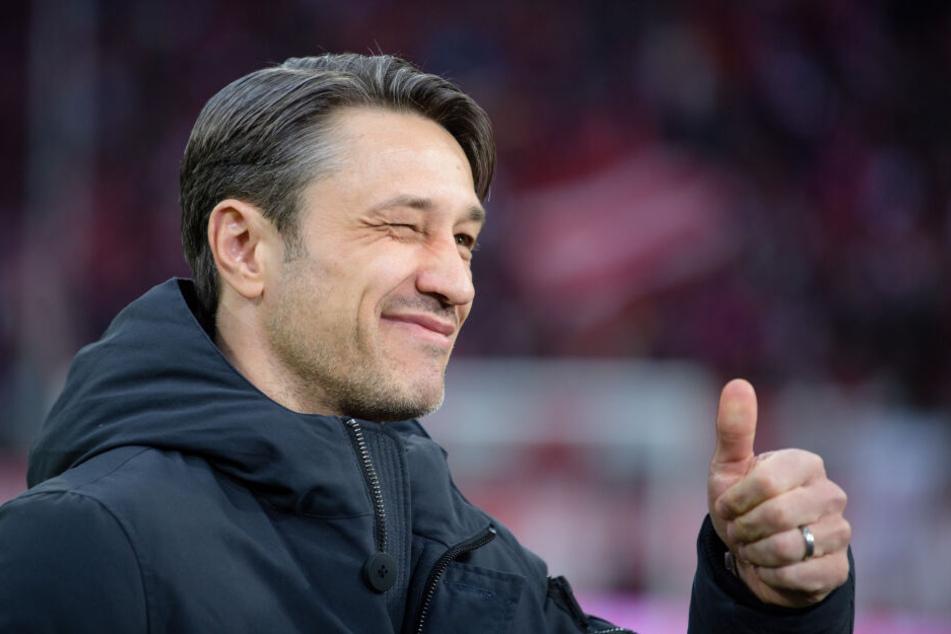Niko Kovac (47) fände es nicht schlimm, wenn Bayern einmal kein Meister werden würde. (Archivbild)
