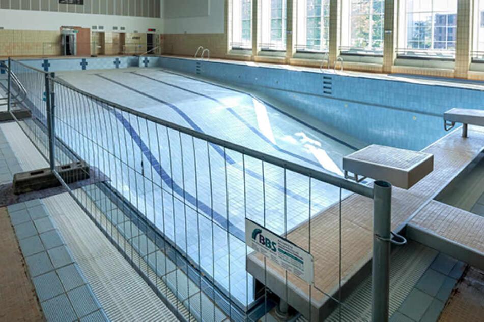 Auf die 25-Meter-Bahn im Stadtbadmüssen die Schwimmer nur nochbis zum 21. November warten.