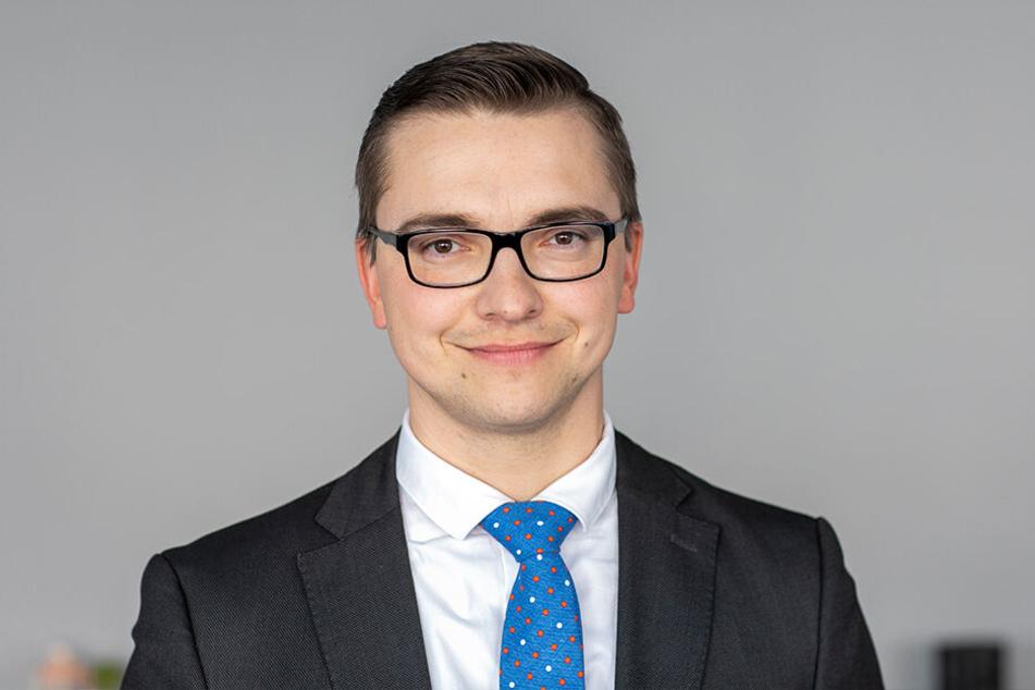 Ministeriumssprecher Jörg Förster.
