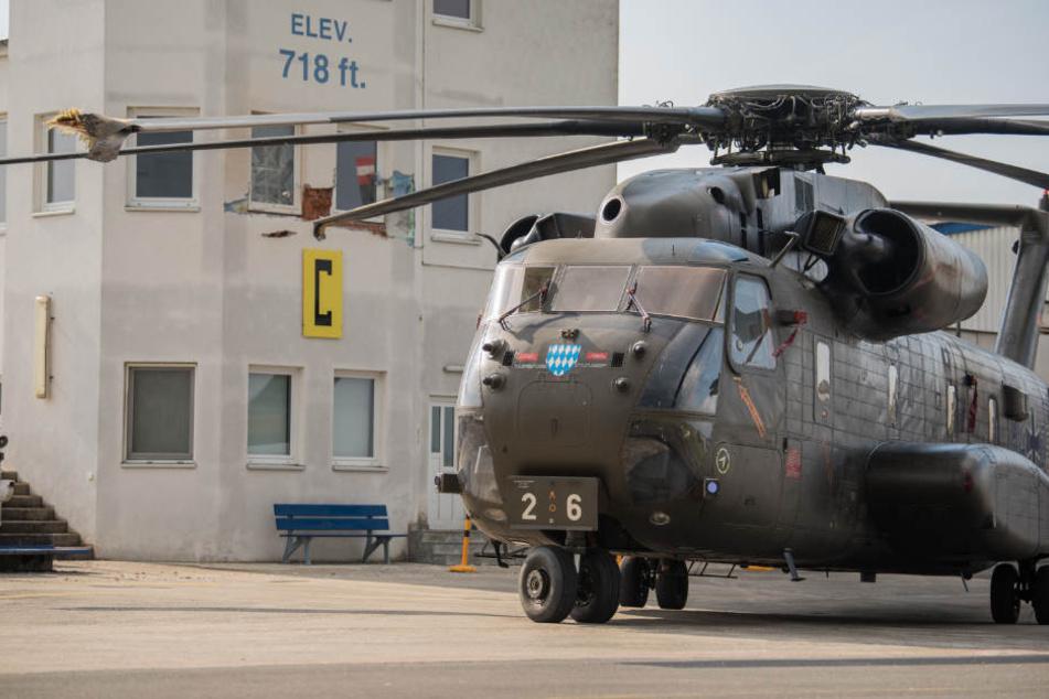 Hubschrauber-Unglück mit einem Toten: Ermittlungen gegen Bundeswehrsoldaten