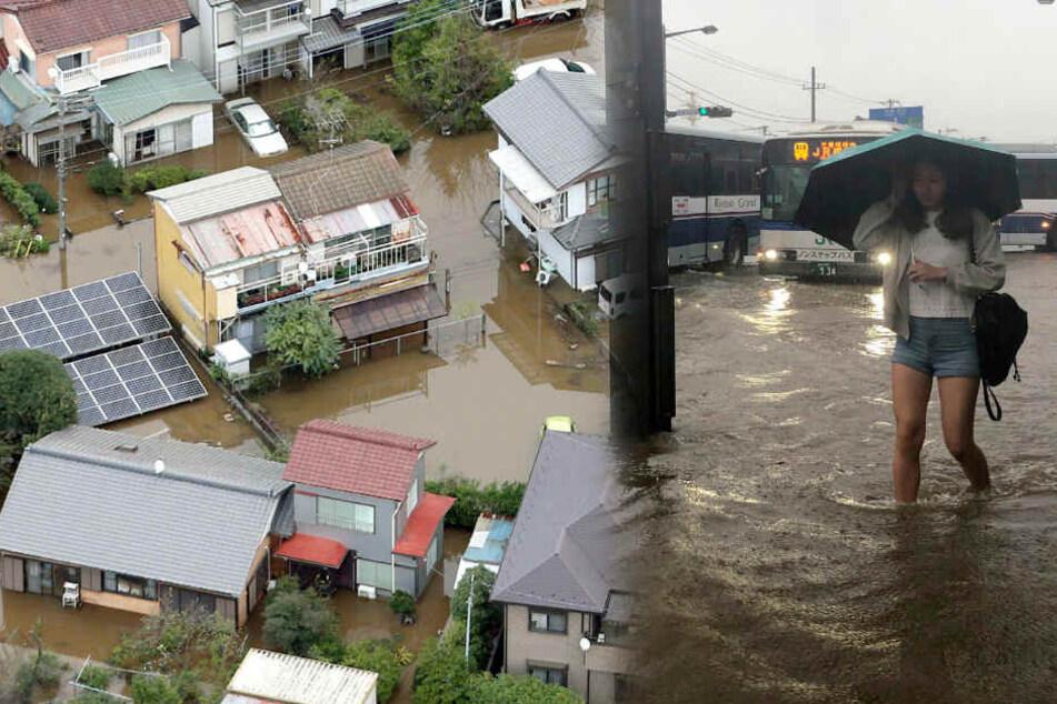 Nach Taifun: Weitere Todesopfer durch sintflutartige Regenfälle in Japan