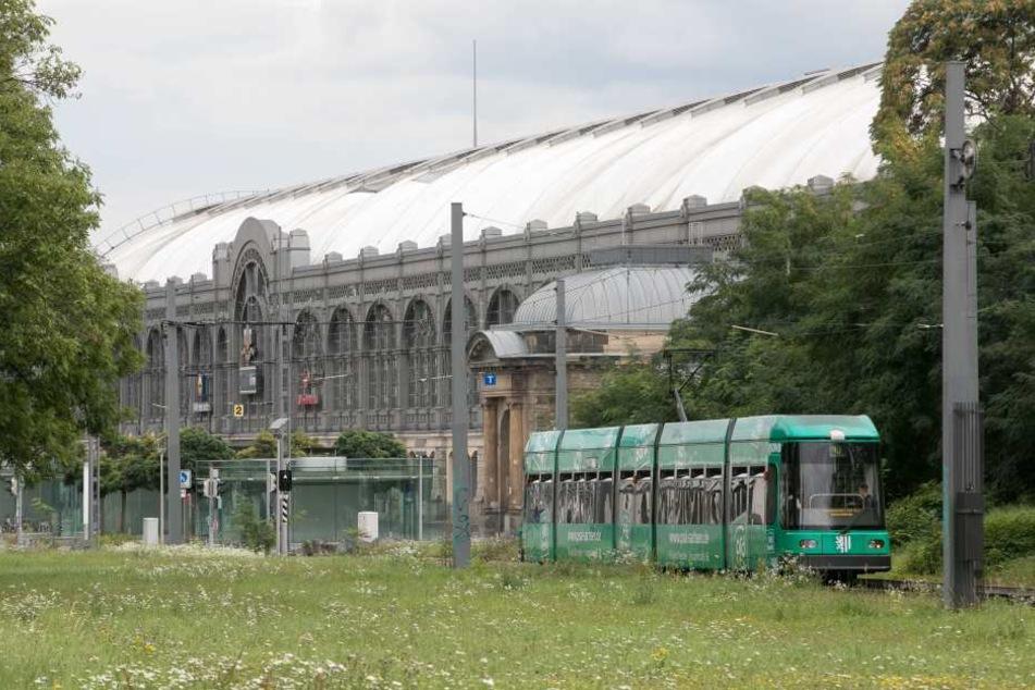 Der westliche Wiener Platz hinter dem Hauptbahnhof.