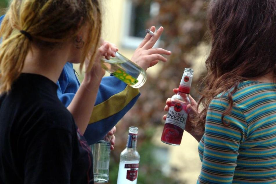 Am stärksten besoffen sind Jugendliche aus der Altersgruppe der 16-Jährigen.