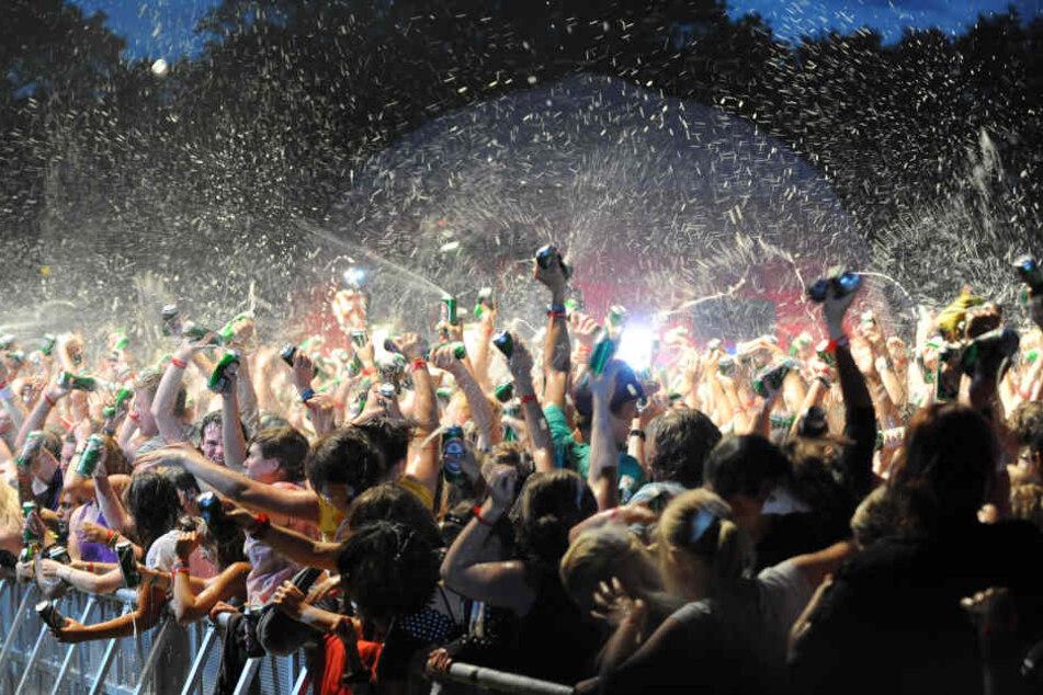 Das Parookaville-Festival in Weeze ist zu einer festen Größe der Sommer-Festivals geworden. (Symbolbild)