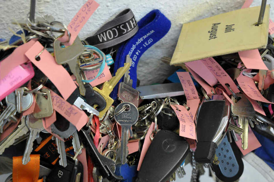 Noch immer gehören Schlüssel und Handys zu den am Meisten gefundenen Dingen in Thüringen.