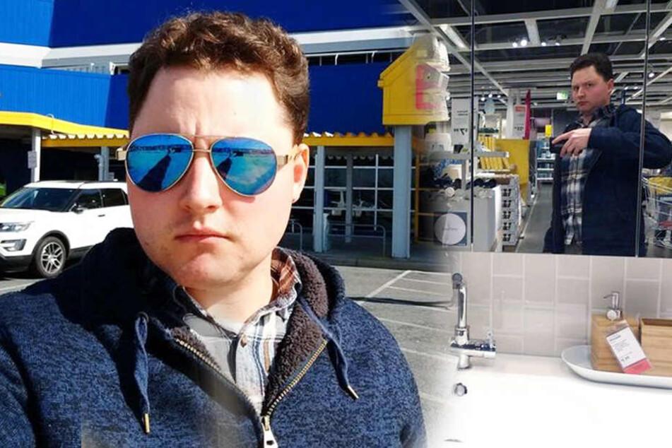 """So lustig dokumentiert ein Mann sein """"Ikea-Martyrium"""" mit der Freundin"""