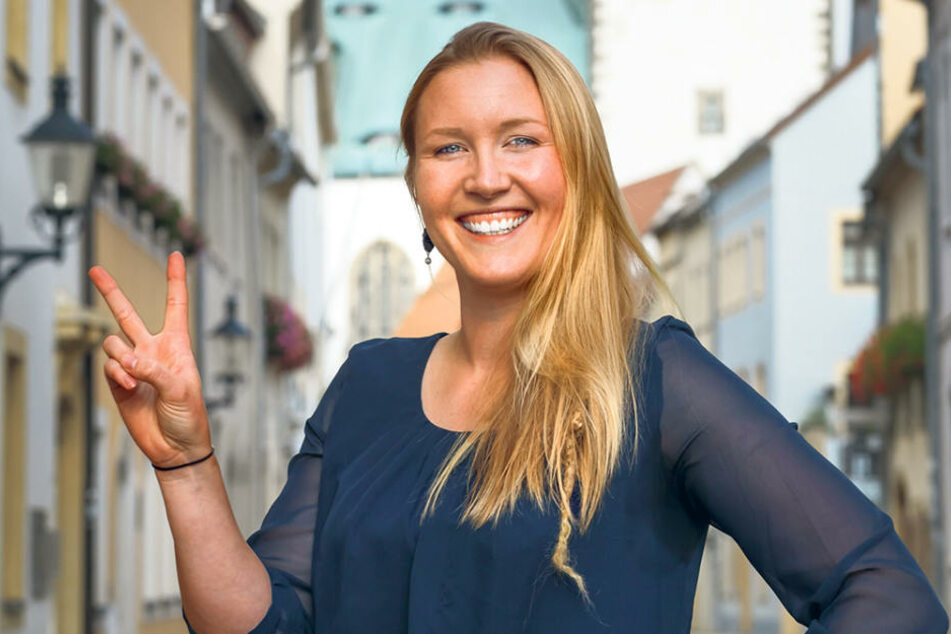 Isabelle Tesche (29) ist Gründungsmitglied der neuen V-Partei³ in  Sachsen. Tierrechtsaktivistin zu sein, reicht ihr nicht.