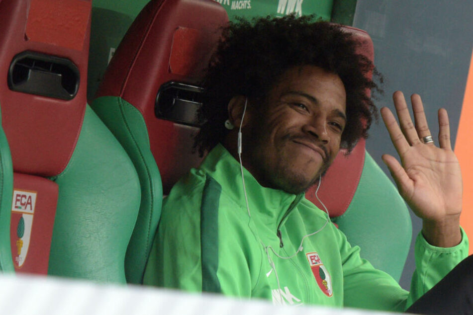 Caiuby machte dem FC Augsburg wiederholt Probleme.