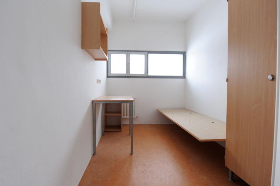 Eine Zelle aus einem Gefängnis. (Symbolbild)