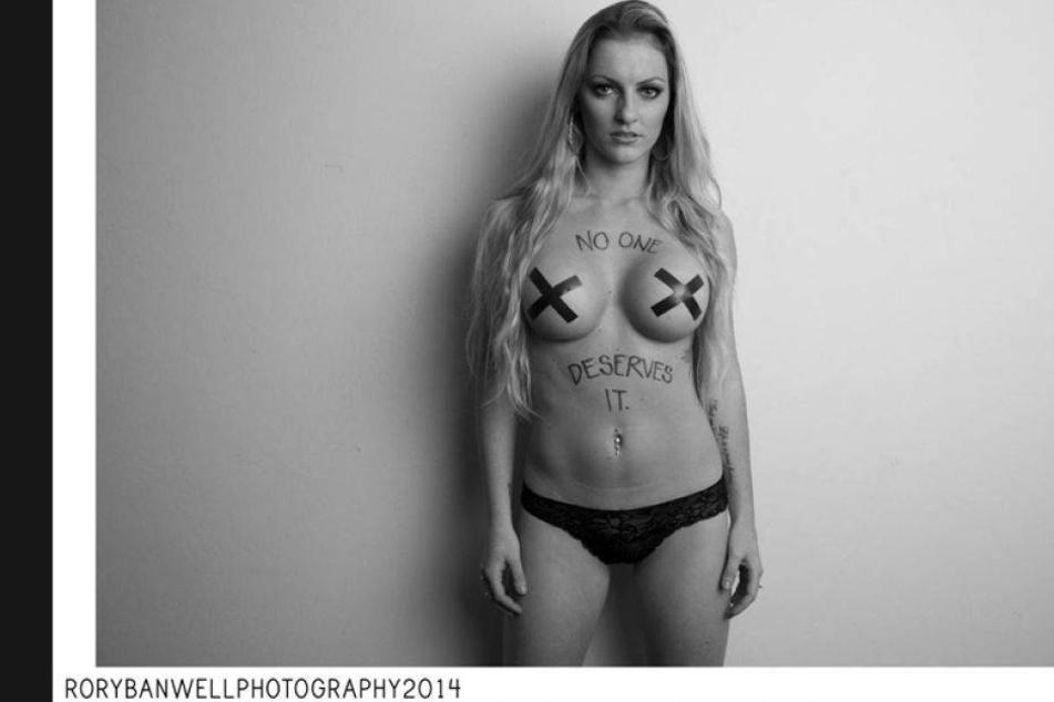 Krasse Kampagne gegen Vergewaltigung von Frauen